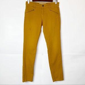 GUC Comptoir Des Cotonniers Mustard Skinny Jeans